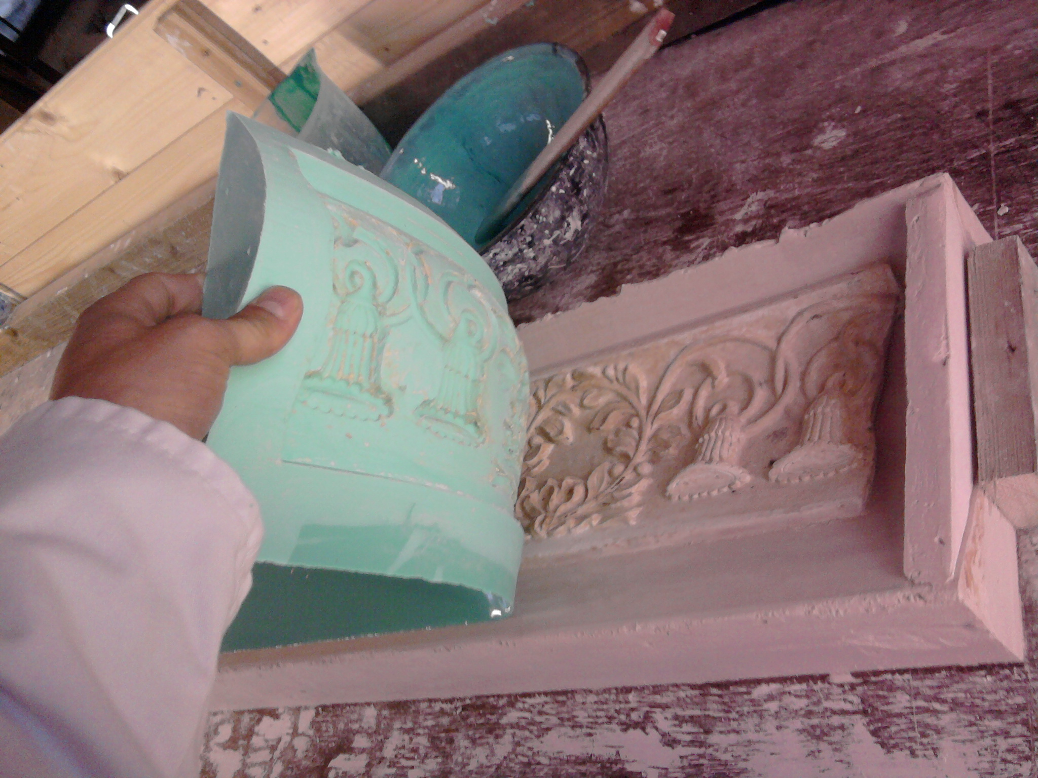 cornice insert detail