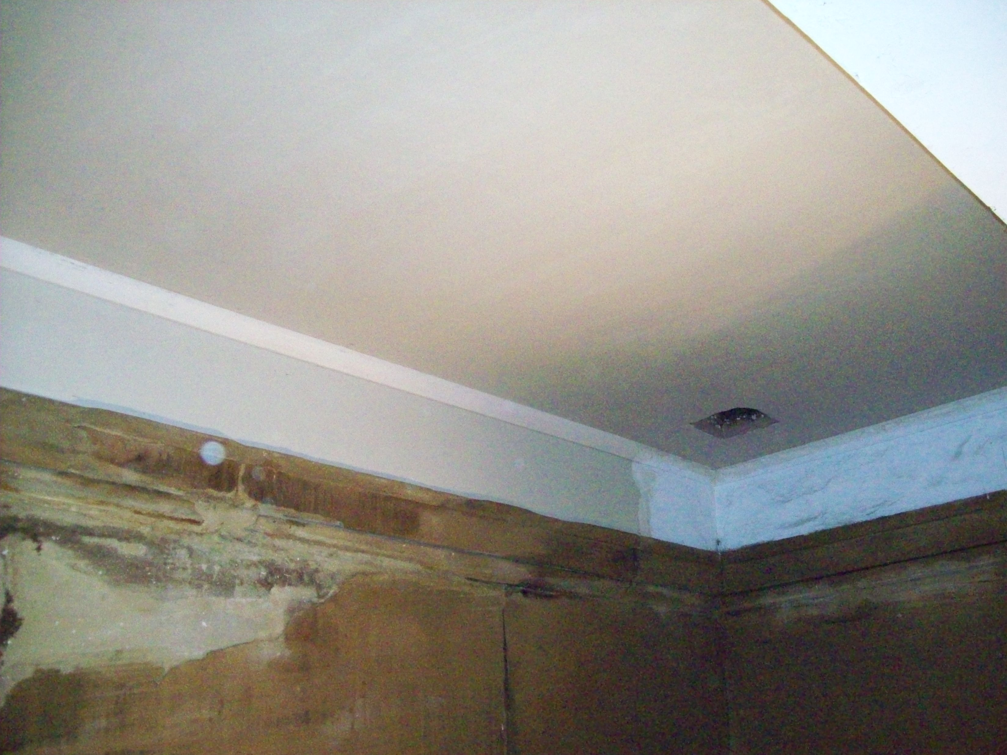 lime plastering, sand and lime finish coat new lath and plaster ceiling