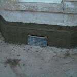 plinth sand and cement scratch coat