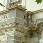 new cornice details all run in-situ