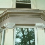 new cornice to bay window, new run cornice