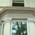 new cornice to bay window, new run cornice