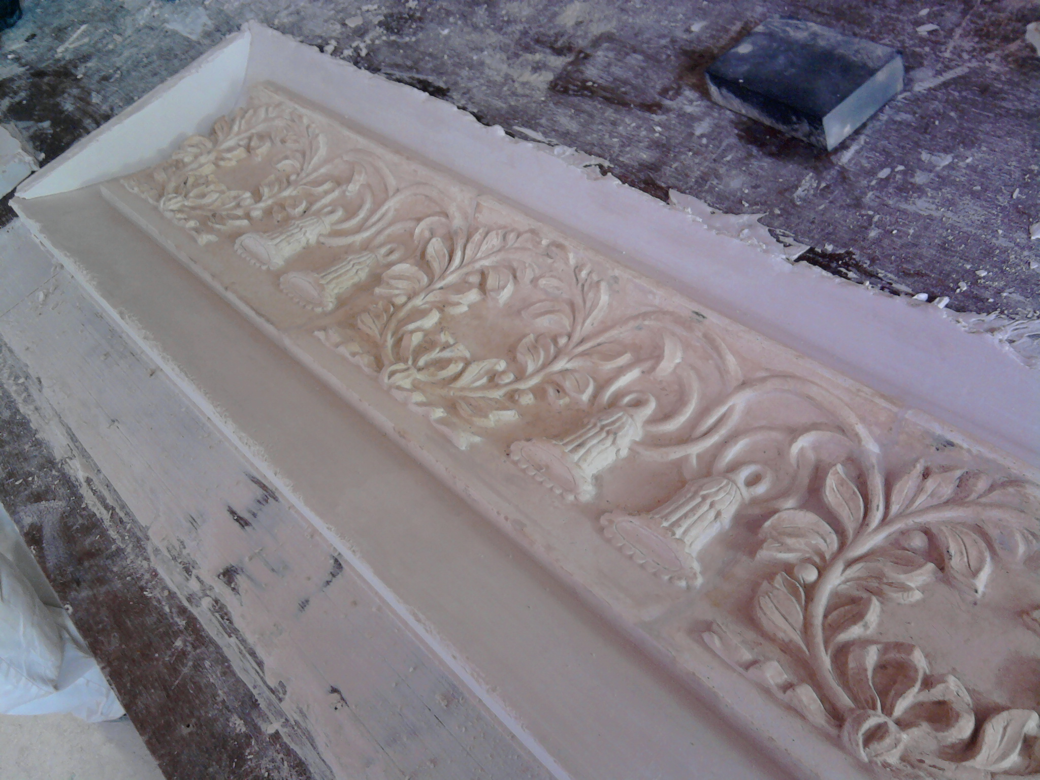 original cornice insert detail cleaned up