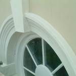 finished window mould painted