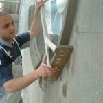 spinning window mould, running cornice